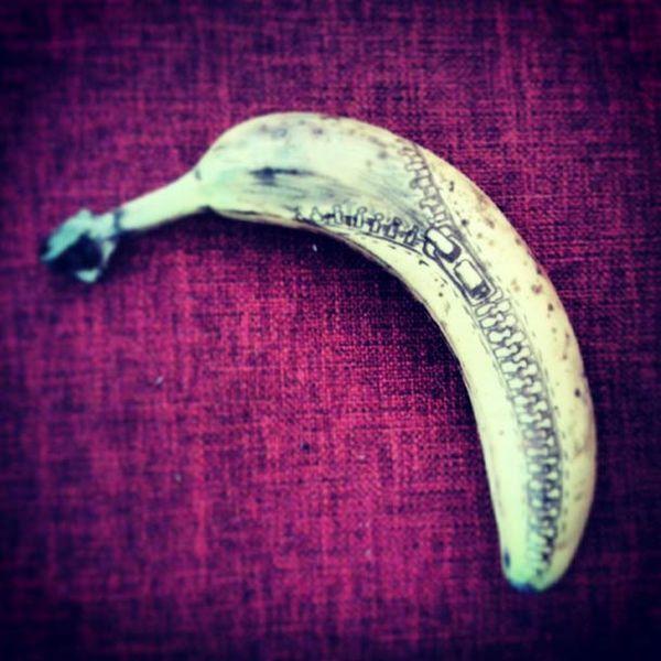 Coole Doodles Auf Bananen Interesting Fruit Veggies Bananen