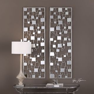 Shop for Tauria Modern Mirrored Wall Art. Get free shipping at Overstock.com - Your Online Home Decor Outlet Store! Get 5% in rewards with Club O!