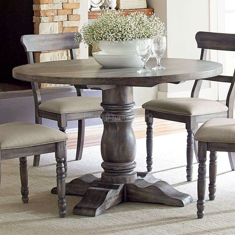 Muses Round Dining Room Set W Parsons Chairs Round Dining Room