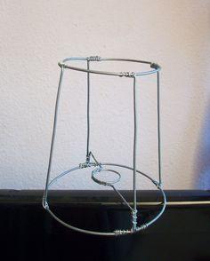 Wire frame 1 design ideas pinterest diy lampshade diy lampshade wire frame 1 greentooth Image collections