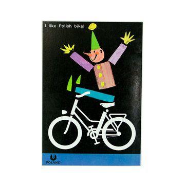 Witold Janowski Bike Print