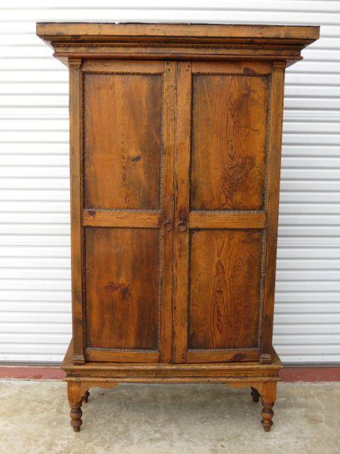size Primitive Pine Antique Rustic Armoire Cabinet Antique Furniture - Size  Primitive Pine Antique Rustic Armoire - Primitive Antique Furniture Antique Furniture