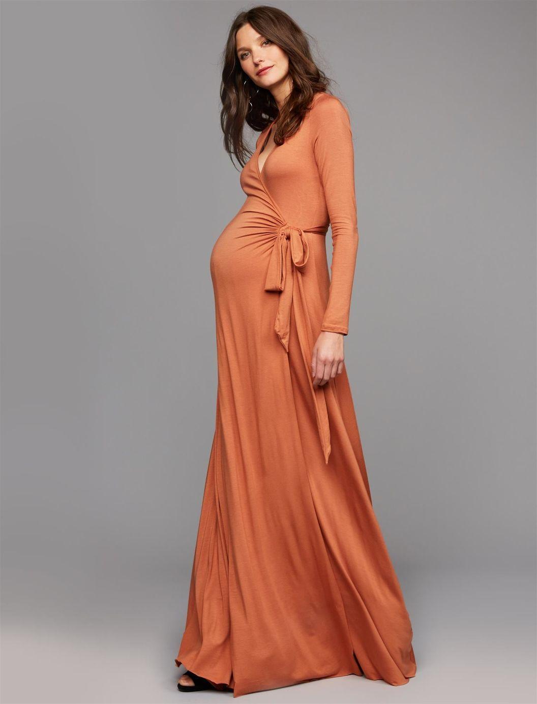0ec720995d8f6 Baby Shower Dresses, Maxi Wrap Dress, Wrap Dresses, Dress Long, Wedding  Trends