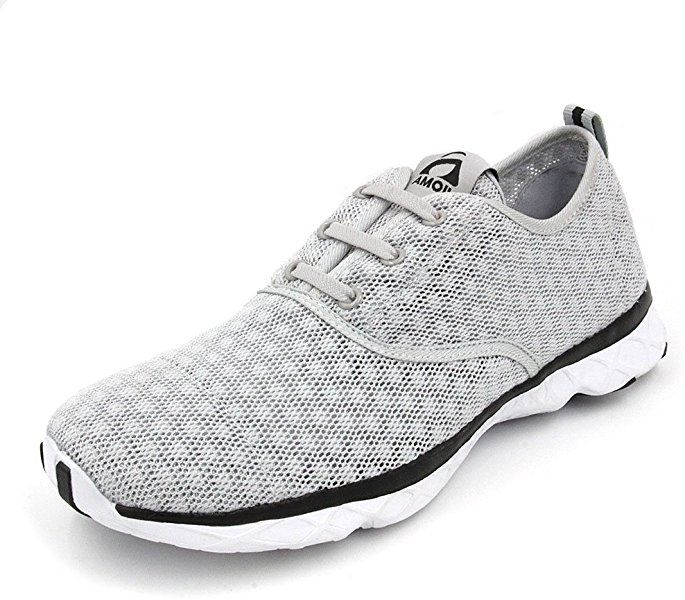 Amoji Water Aqua Shoes Swim Beach Sneaker Athletic Tennis Hiking Sport