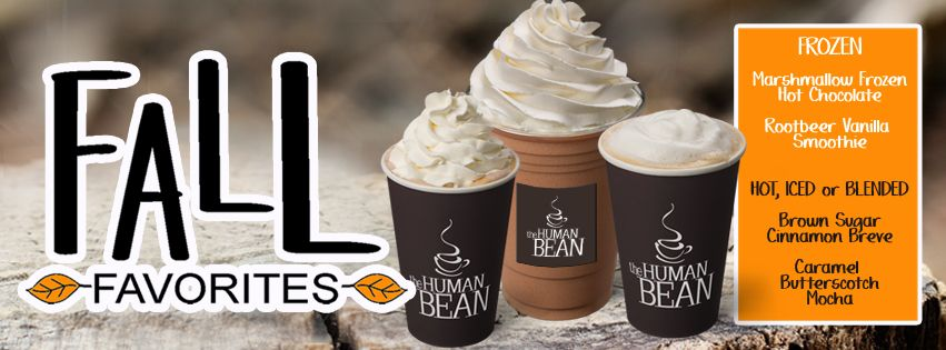 Human Bean Holiday Drinks Are Available Now And All Year Long Pumpkin Spice Mocha Salted Caramel Mocha Human Bean