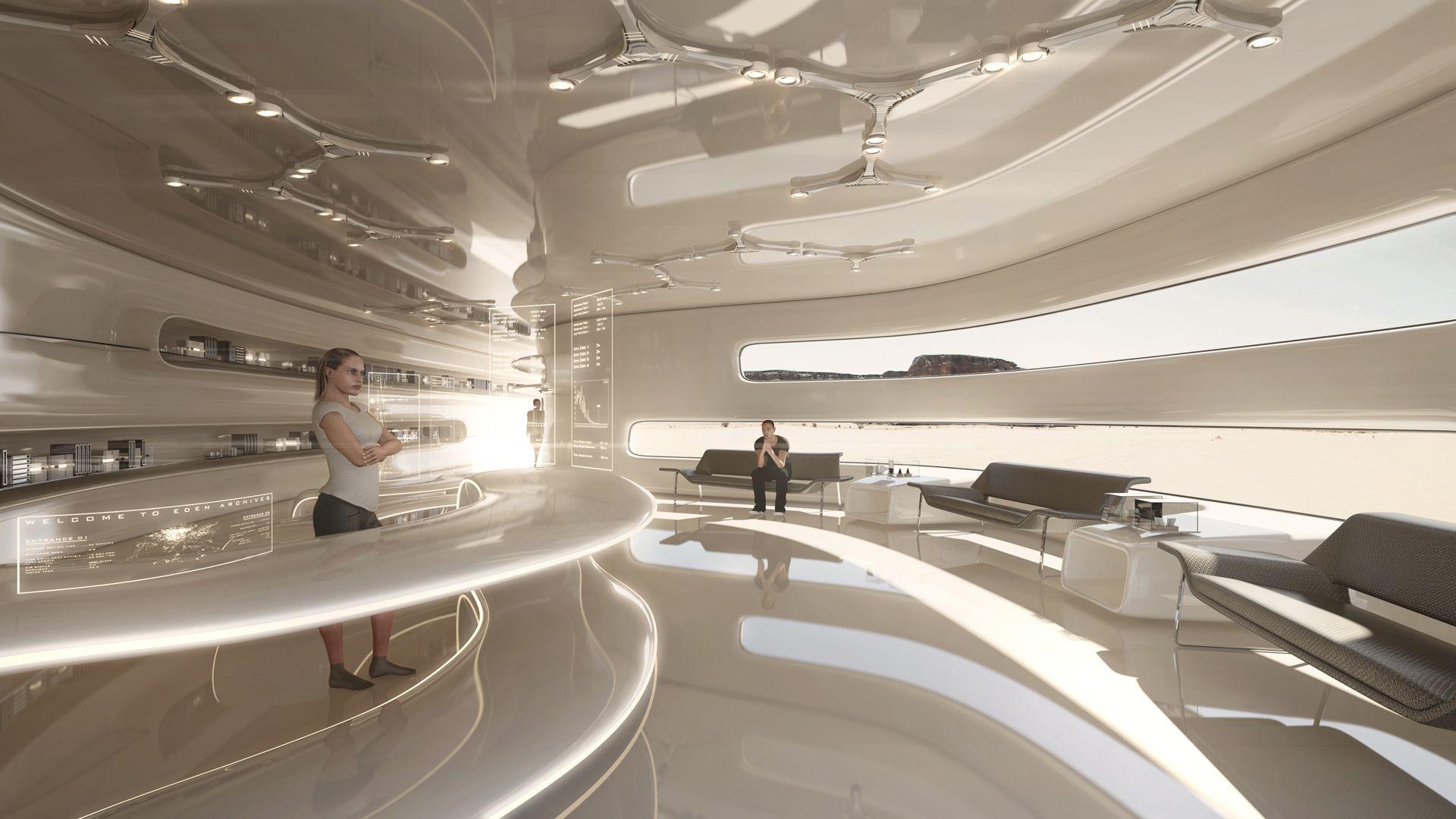 Tarik keskin digital sci fi artist 3d sci fi architect tarik keskin environments pinterest Diseno interior futurista