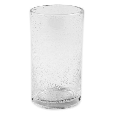 Bee Willow Home Milbrook Bubble Highball Glass In Clear