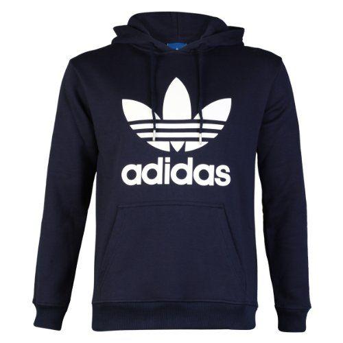 adidas Mens Navy BlueWhite Adidas Originals Trefoil Logo