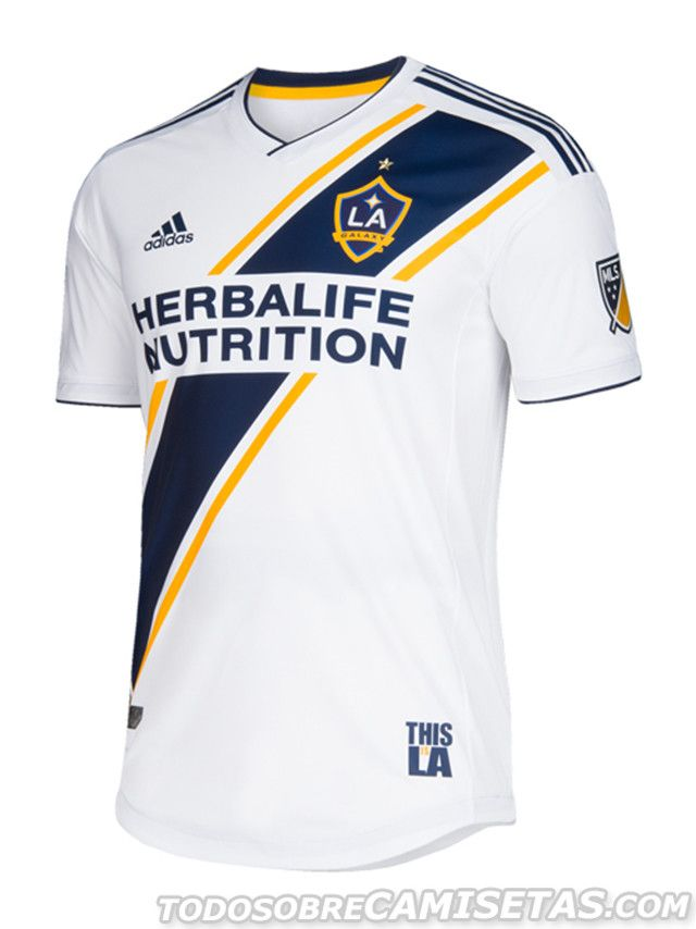 LA Galaxy 2018 adidas Home Kit  50bdf91940c