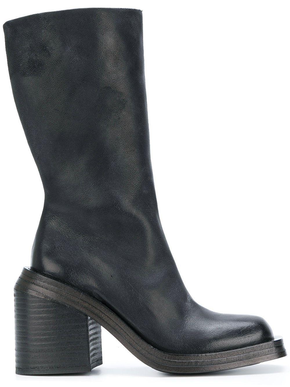 MARSèLL Chunky block heel boots 6oWdKKkg