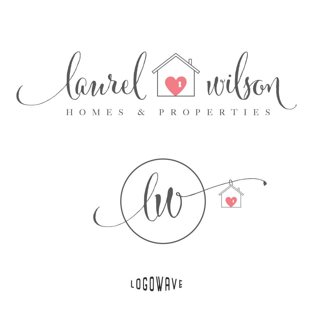 Home Logo Design. House Logo. Real Estate Logo. Realtor Logo. Home ...