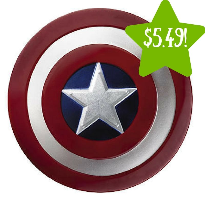 Kmart Marvel Captain America Movie Child Shield Only 5 49 Reg 16 Today Only Captain America Costume Captain America Shield Captain America