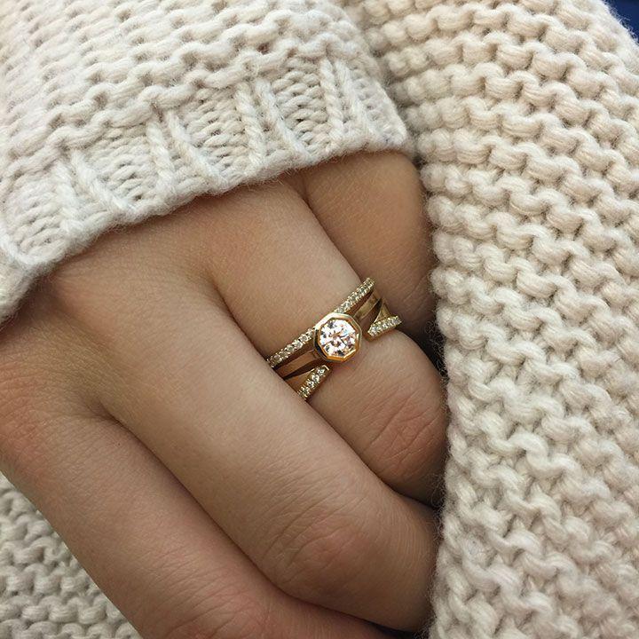 Kat Kim S Unconventional Engagement Rings Mon Cheri Bridals