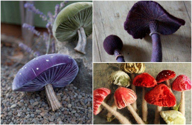 Déco avec champignons DIY originale pour accueillir l ...