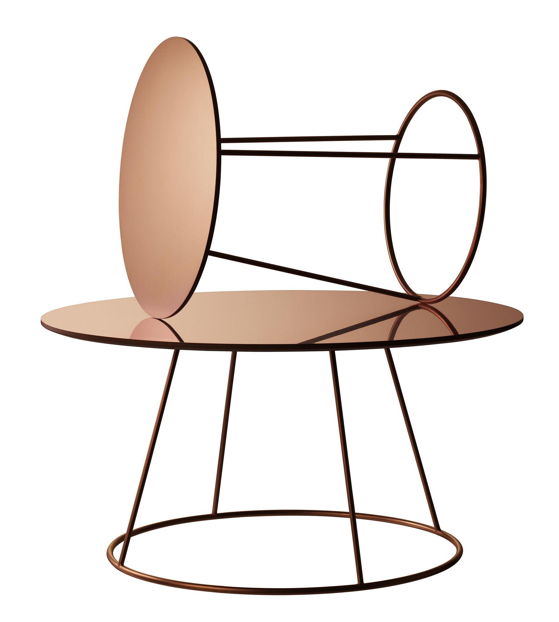 Der Swedese Breeze Tisch Ist Ein Echter Hingucker In Den Varianten Weiss Schwarz Und Kupfer Mit Gewellter Oder Flacher Tischplatte Kann Er Auch Gut Zu