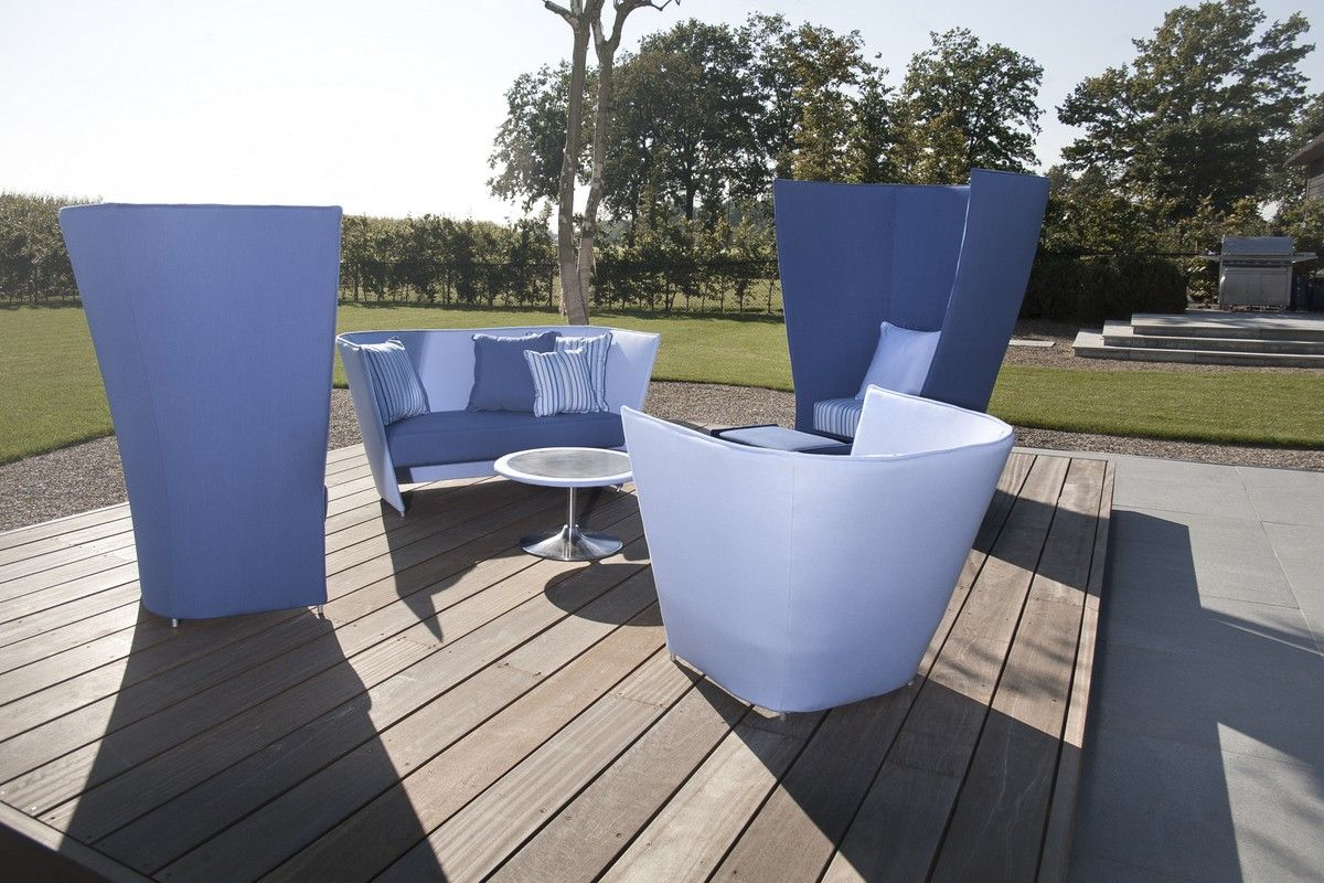 Design chill hamlet outdoor lounge tuin inspiratie