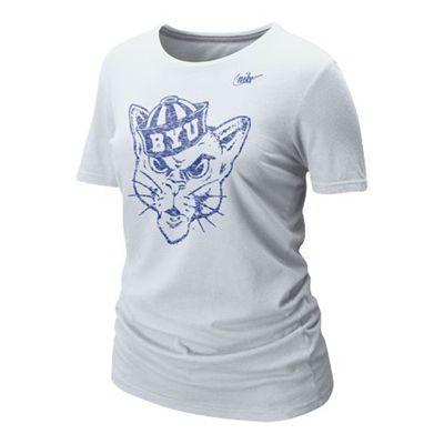 c7c98031962 BYU Cougars NCAA Nike Women s Vault T-Shirt. 25