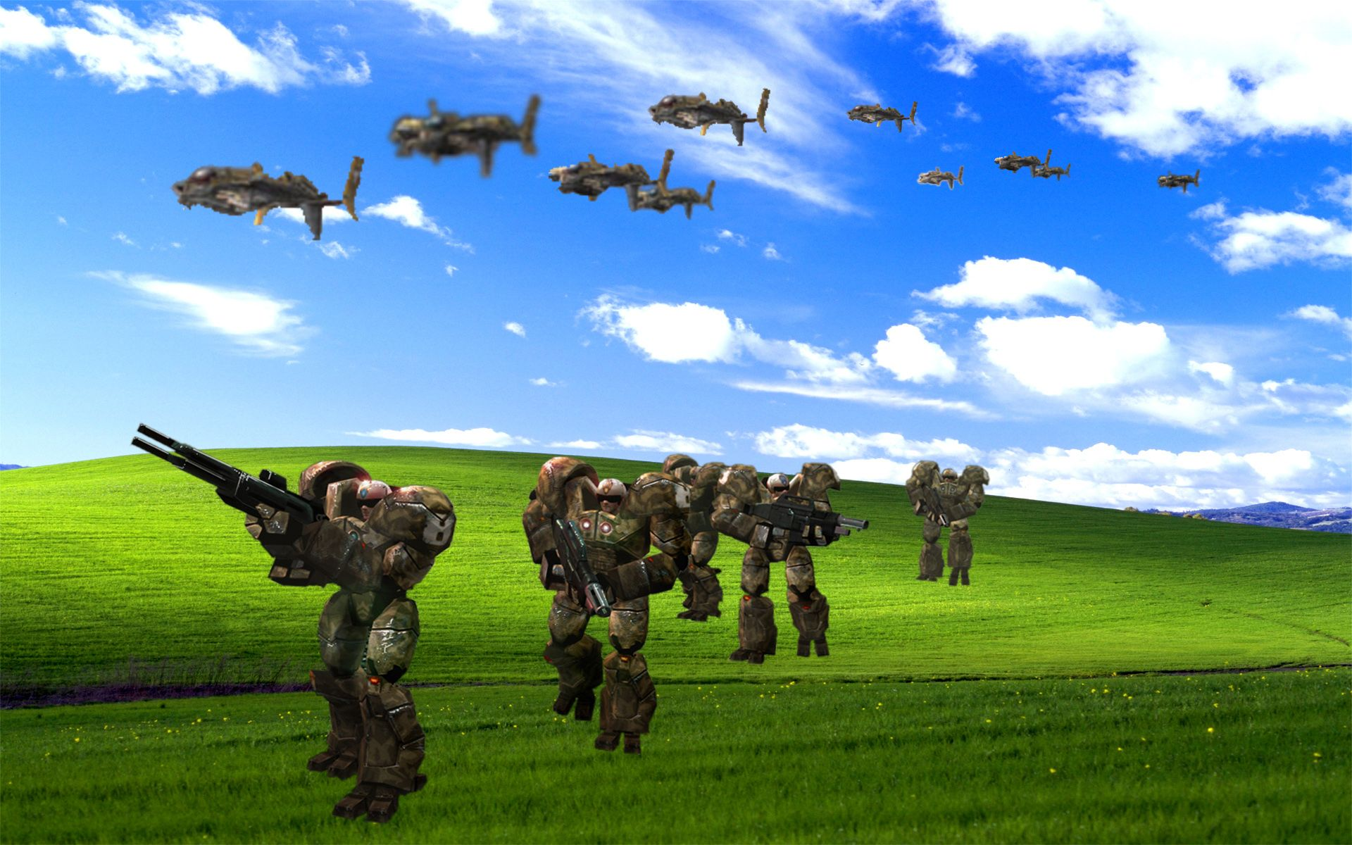 Windows Xp Bliss Wallpaper Image Gallery Know Your Meme Hd