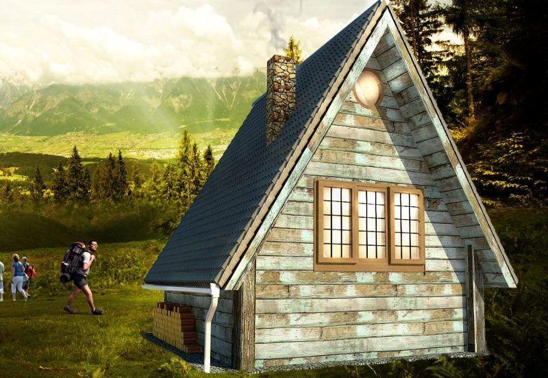 Te Koop Mod Op Maat Modulaire Woning A Frame House