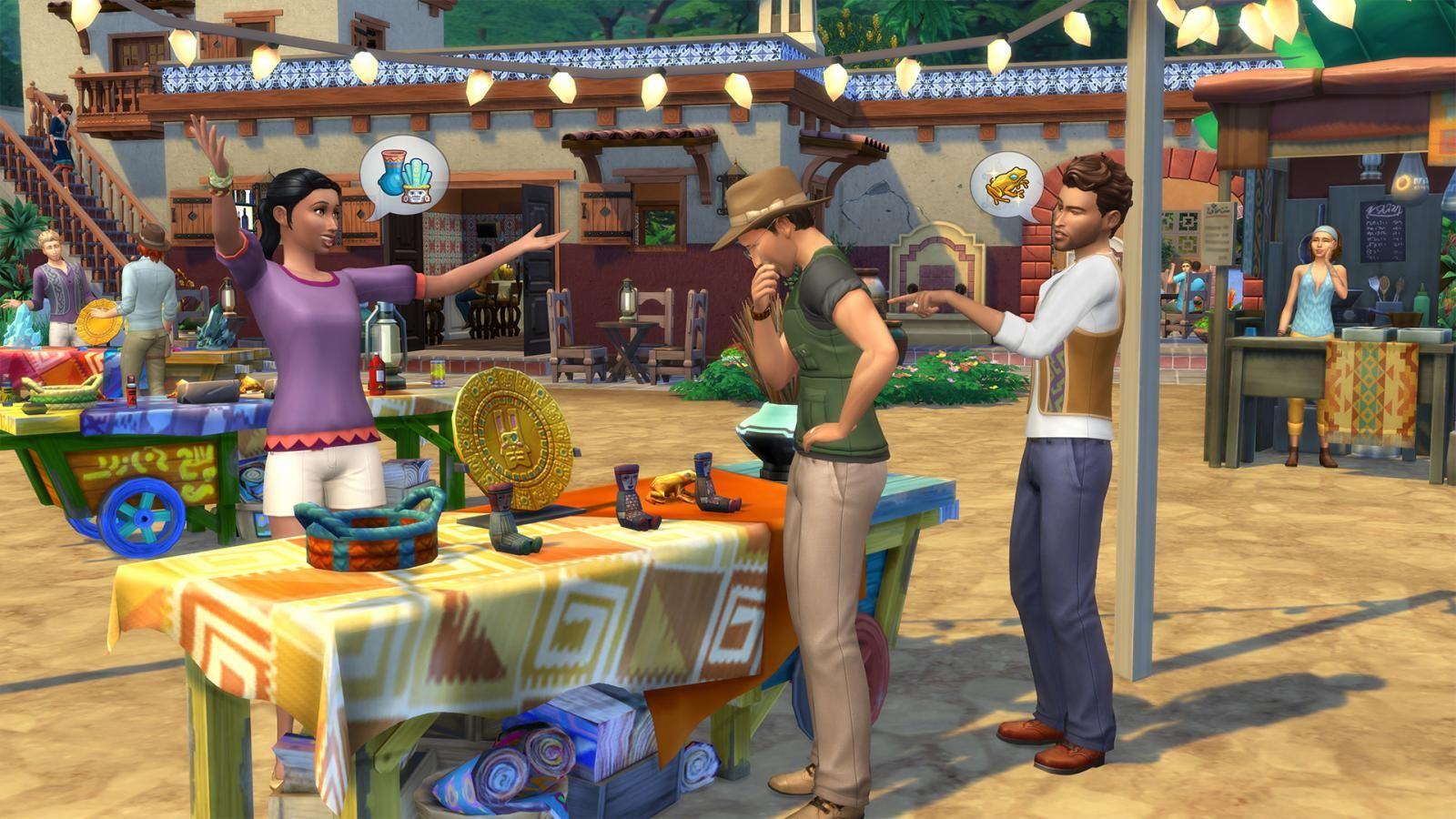 Pin su Les Sims 4 Jungle aventure