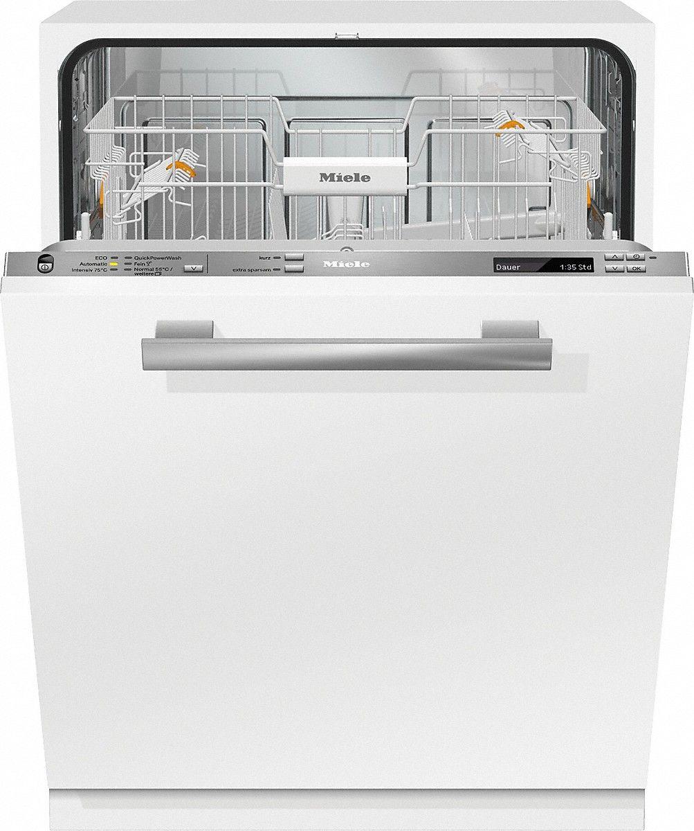G 6770 Vi - Vollintegrierter Geschirrspüler Kostenersparnis dankEEKA+++ und ab6,5 l im Automatic Programm.--Edelstahl/CleanSteel