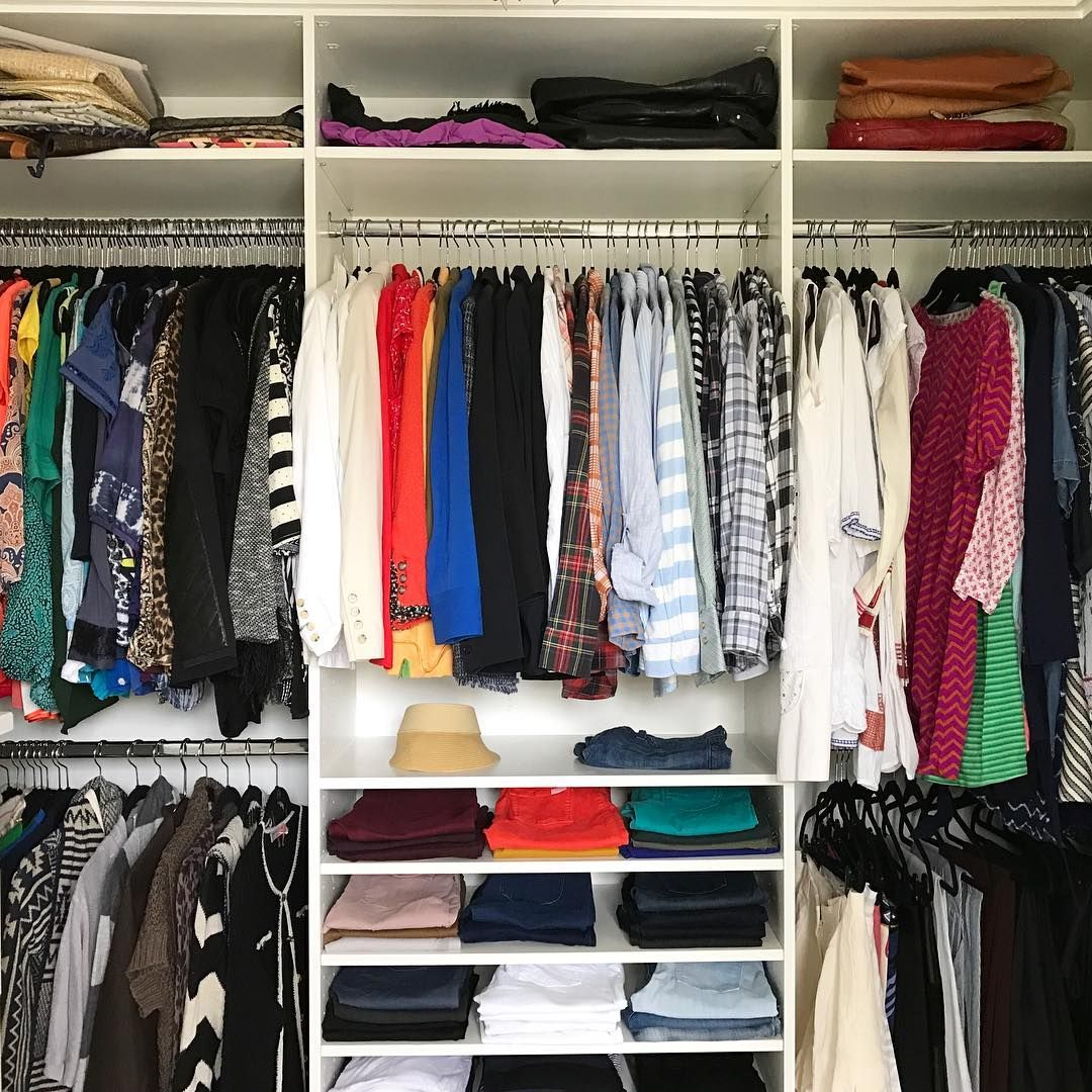Monday morning decisions made easier with an organized closet