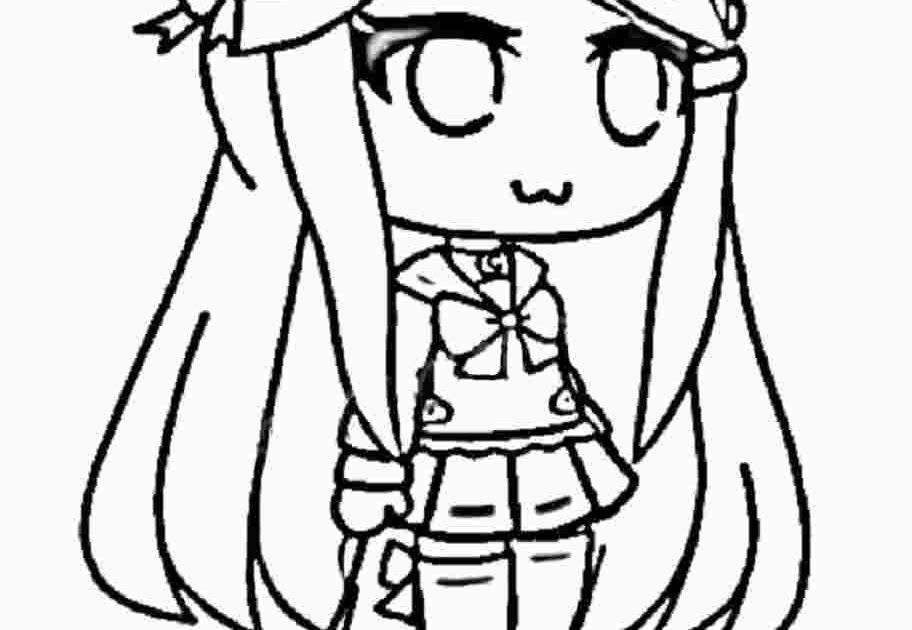 Gacha Life Coloring Pages Unique Collection Print For Free In 2020 Witch Coloring Pages Cool Coloring Pages Coloring Pages
