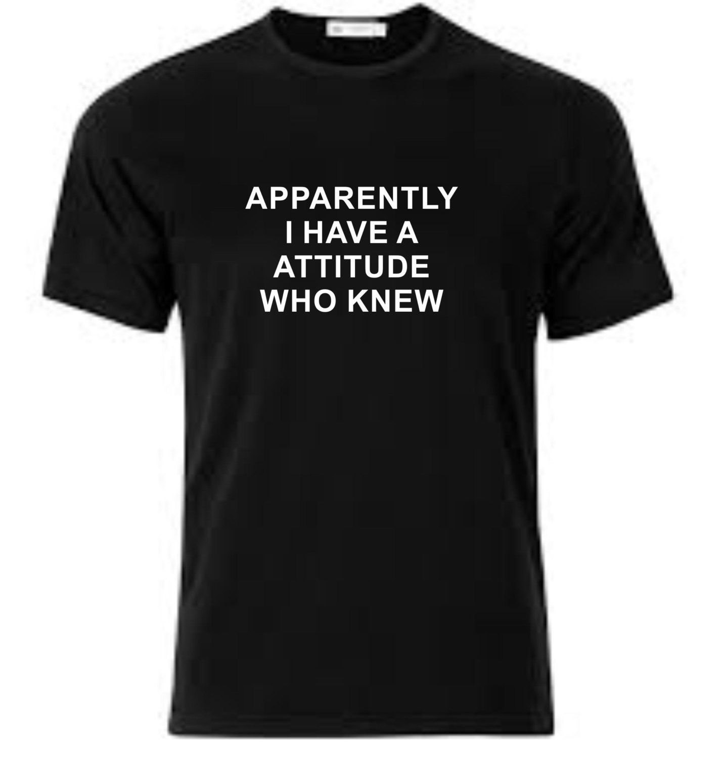 I Have A Attitude T-Shirt Printed T-Shirt by NeedleNPin on Etsy