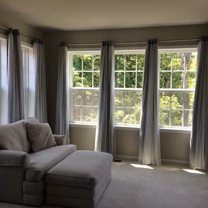 Brockham Solid Blackout Thermal Grommet Curtain Panels Window