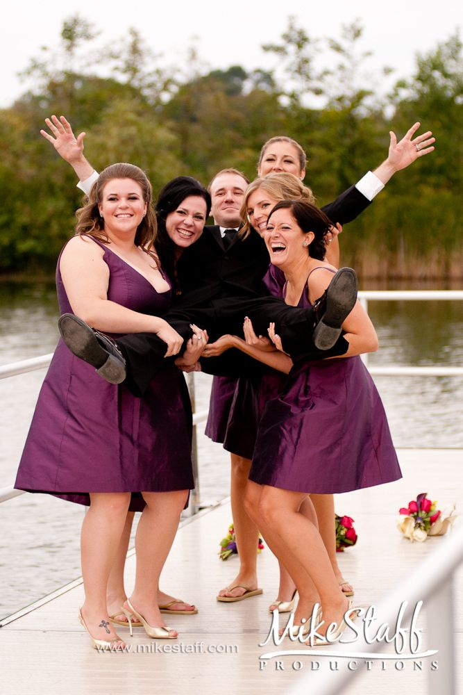 I do want a picture of my groom with all the girls! and the same of me with the guys