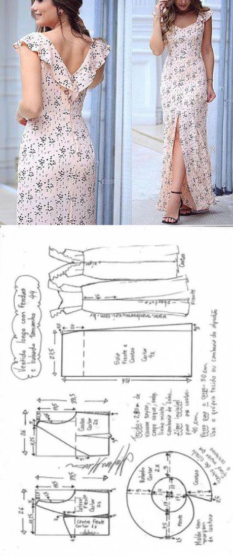 La costura ✂ los Patrones. El vestido | Blusas | Pinterest ...