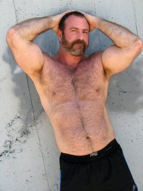 Hairy ebony mature