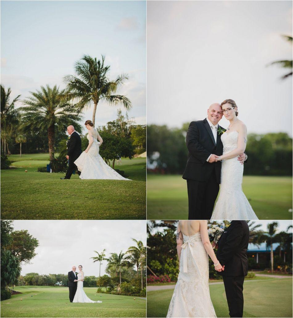 DeerCreek Golf Club In Deerfield Beach FL Wedding Destination Photographer Bride And