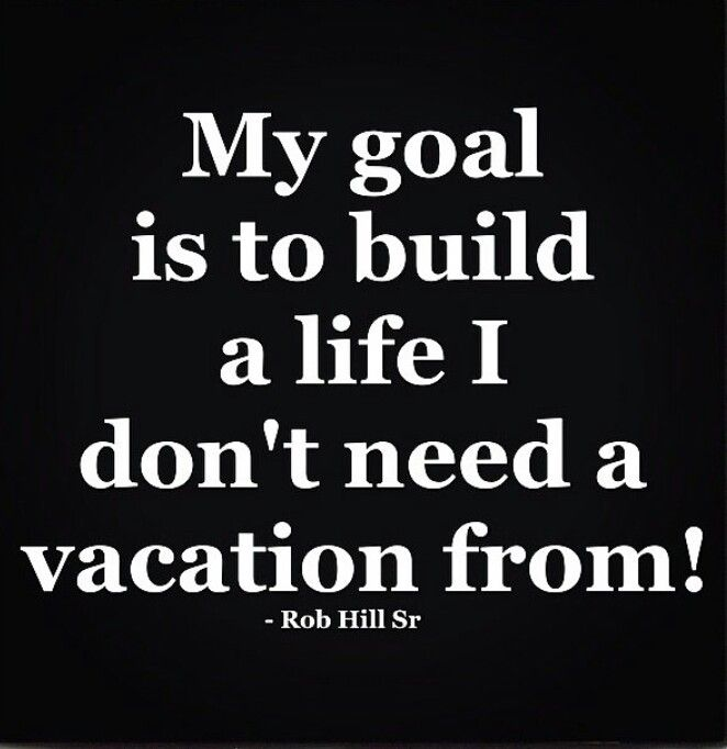 No vacation x