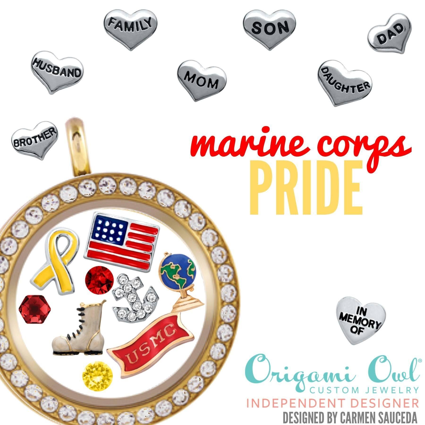 Usmc marine corps pride origami owl locket perfect for wife usmc marine corps pride origami owl locket perfect for wife brother girlfriend nvjuhfo Gallery
