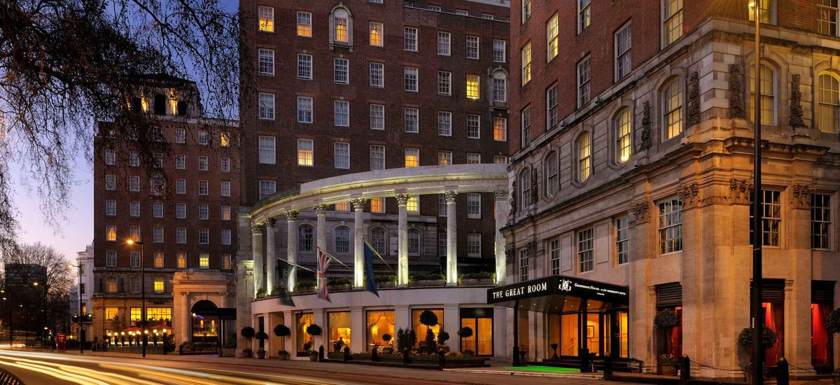 Grosvenor House London Set Just Back From Park Lane And Overlooking The Sweeping Gardens Of Royal Hyde A Jw Marriott Hotel Is