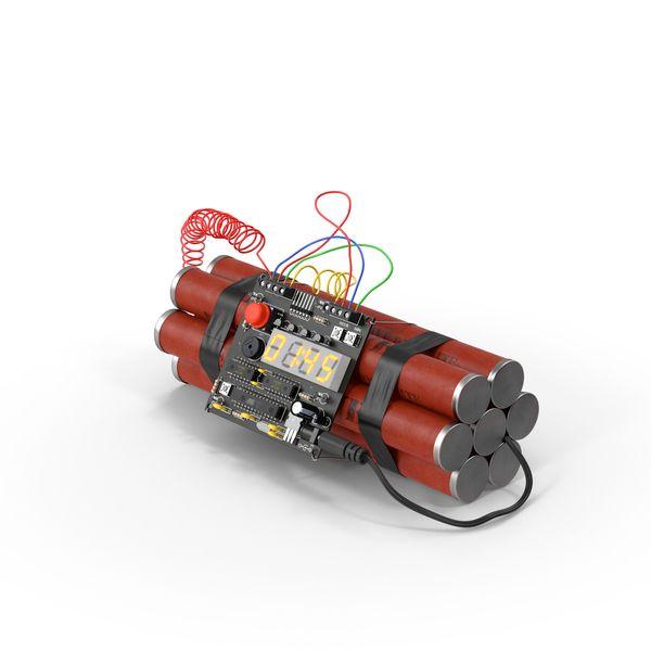 Time Bomb Image Pixelsquid Com S105984809 Bomb Image Png Bombs