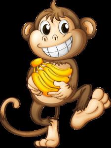 Animashki Obezyanki Stranica 6 Monkey Drawing Monkey Pictures Cartoon Monkey