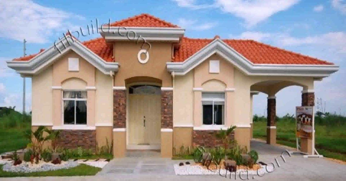 Bungalow House Exterior Paint Colors In The Philippines Home 2 Bedroom Craftsman Bungalow House Plan In 2020 Bungalow House Design House Roof Design Philippine Houses