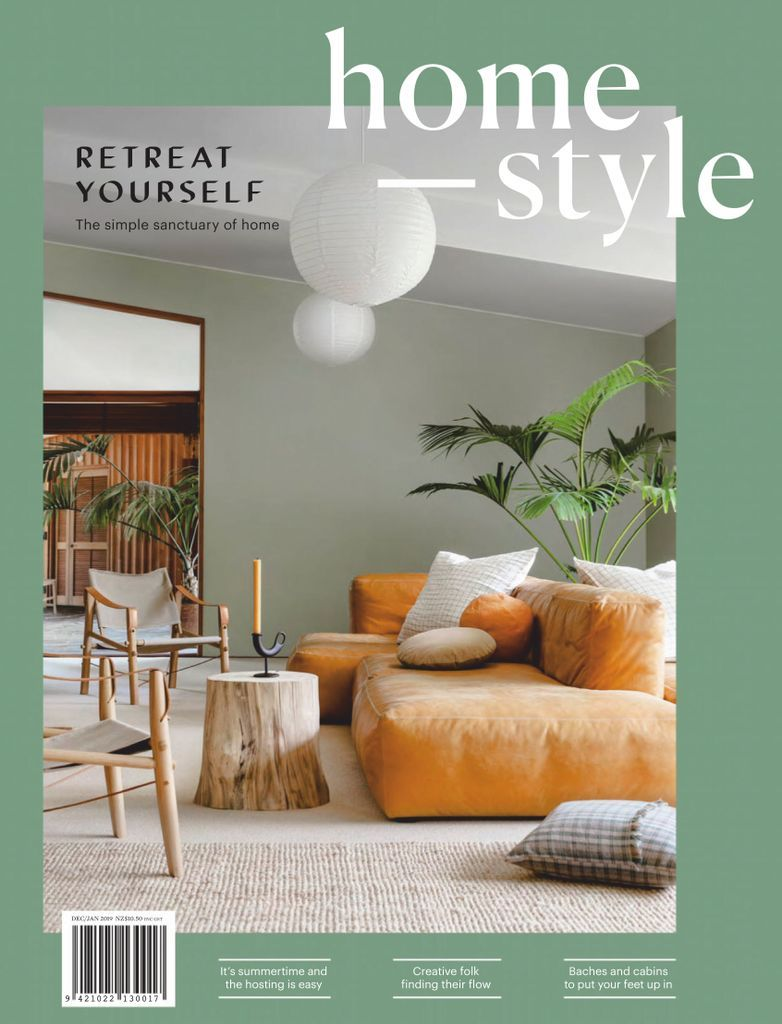 homestyle is New Zealand's freshest home and lifestyle magazine. With a focus on clever ideas and intelligent spending, homestyle offers a mix of accessible luxury and practical inspiration giving you the confidence to create your own living environment with a personal touch. From new homes, to renovations and even rentals, homestyle is the magazine for anyone looking to transform their house into a home.