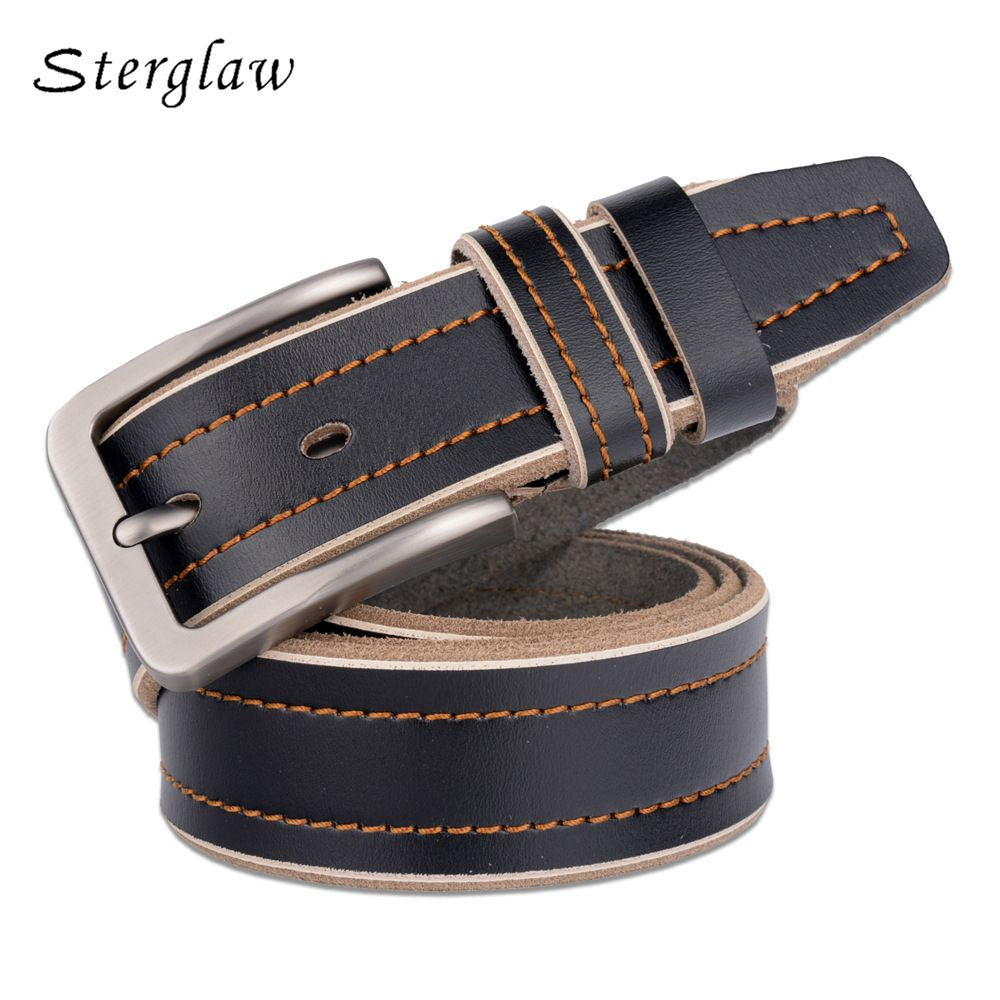 Men s Classic High Quality Genuine Leather Belt   Price   20.00   FREE  Shipping  . Ceinture En Cuir Pour HommesCeintures ... 1ff48e02662