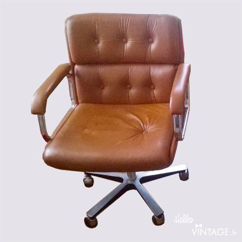 Chaise De Bureau Vintage Fauteuil De Bureau Vintage Style