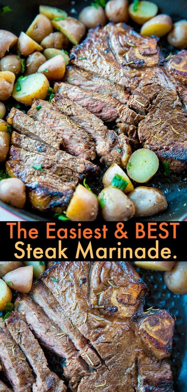 Fix this SUPER EASY and delicious steak marinade is for busy parents! Fix it and forget it until you are ready to BBQ! #recipe #bbq #steak #marinade #beef #barbecue #sauce #grilling #steakmarinaderecipes