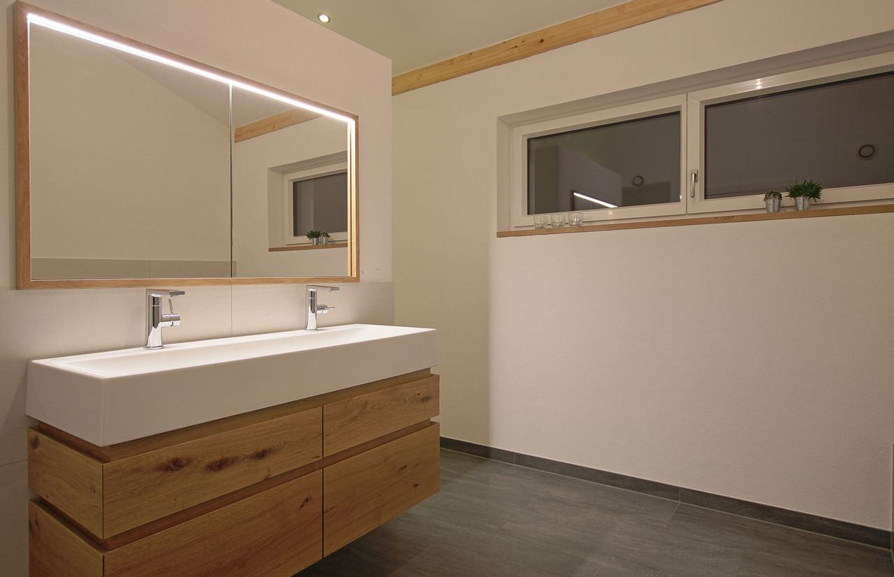 Badmobel Symetrie Schreinerei Baier Stil Badezimmer Toilette Renovieren Badezimmer