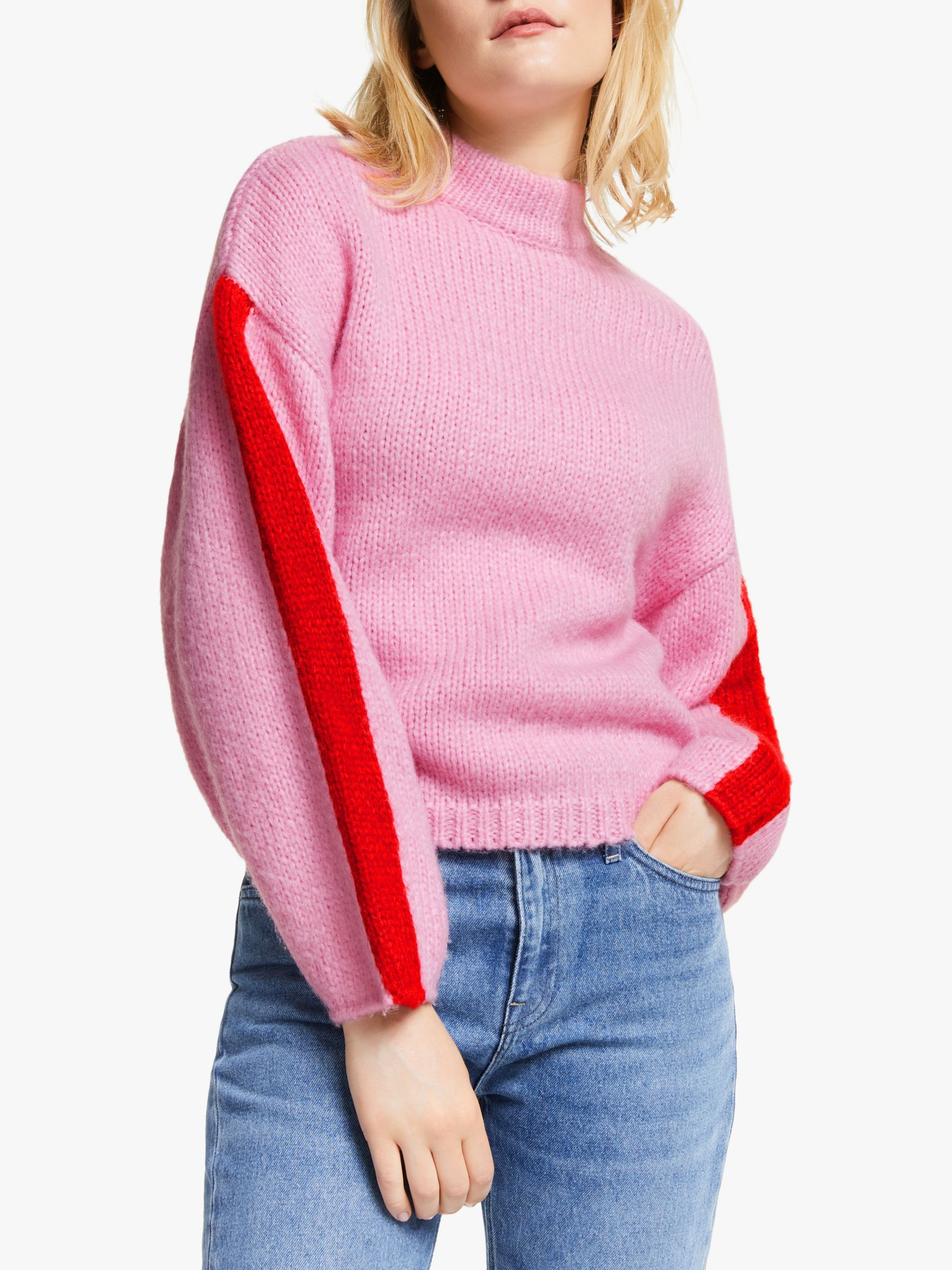 Lee Chunky Knit Jumper, Frost Pink #chunkyknitjumper