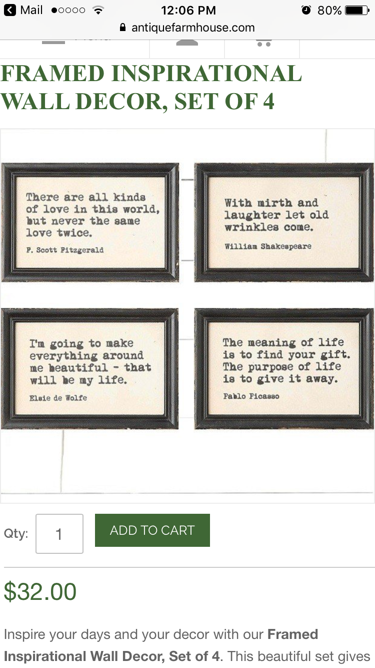 Pin By Rose Burns On Crafts Inspirational Wall Decor Frame Wall Decor Framed Wall Art Sets