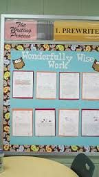 Resultado de imagen de classroom good work bulletin board work display