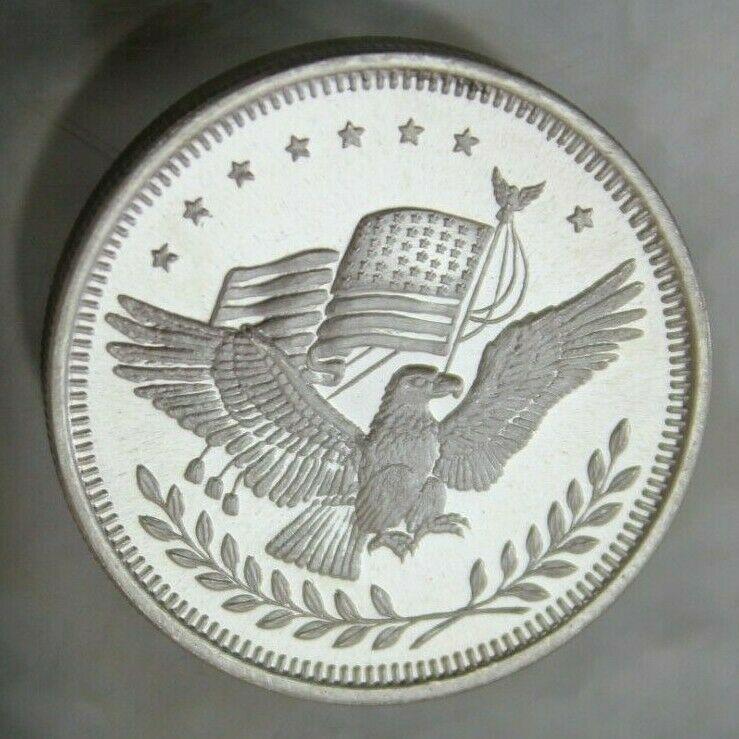 Apm Silver Trade Unit American Eagle 1 Oz 999 Fine Silver Round Coin Bullion Silver Rounds Fine Silver Silver Bars
