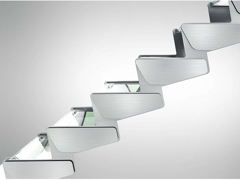 Ikona Steel open staircase