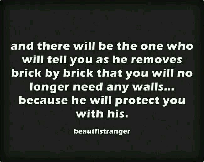 Because he will protect you with his.